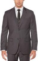 Perry Ellis Regular Fit Sharkskin Solid Suit Jacket