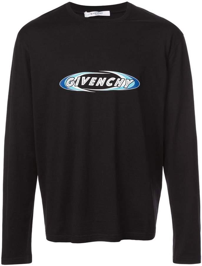 Givenchy longsleeved logo T-shirt