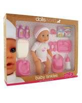 Fashion World Dolls World Baby Tinkles Playset