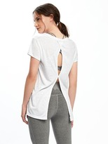 Old Navy Go-Dry Cool Keyhole-Back Top for Women