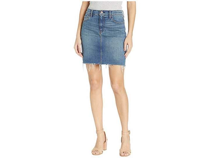 Lulu Denim Skirt in Vroom