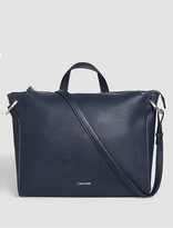 Calvin Klein Panel Satchel