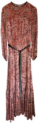 Alexis Pink Velvet Dress for Women