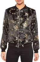 Missguided Jacquard Bomber Jacket