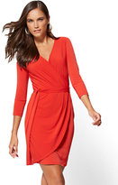 New York & Co. Belted Wrap Dress