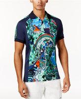 Versace Men's Eclectic-Print Polo