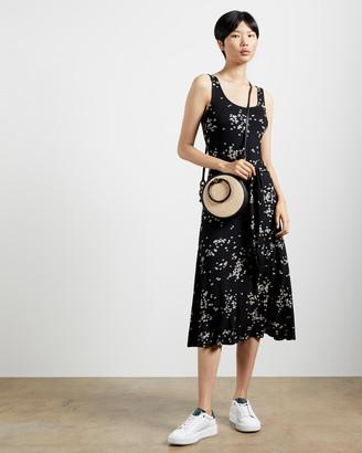 Ted Baker PHILINA Ditsy floral midi dress