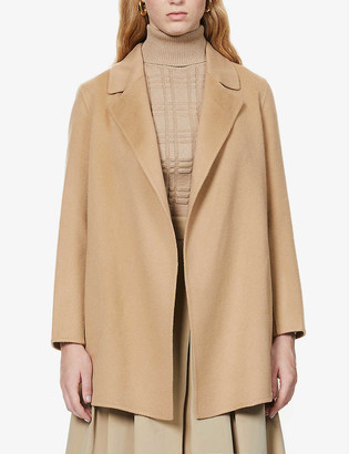 Theory Clairene wool and cashmere-blend jacket
