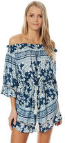 O'Neill New Women's Senita Playsuit Viscose Blue
