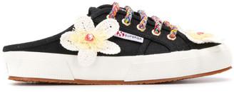 Alanui Flower Printed Sneakers
