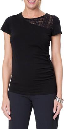 Stowaway Collection City Maternity/Nursing T-Shirt