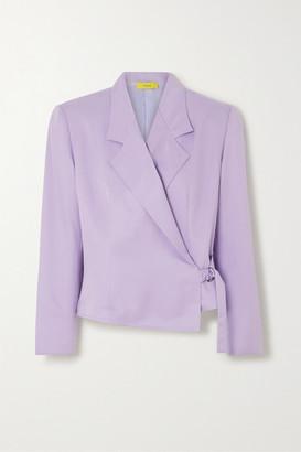 Pyer Moss Twill Blazer - Lavender
