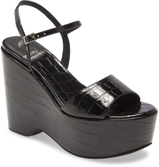 Jeffrey Campbell Anamaria Platform Wedge Sandal