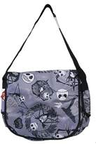 Disney The Nightmare Before Christmas Jack Skellington Tombstone Themed Messenger Bag
