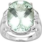 Kohl's Sterling Silver Green Quartz Ring