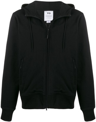 Y-3 Y 3 CL zip-up cotton hoodie