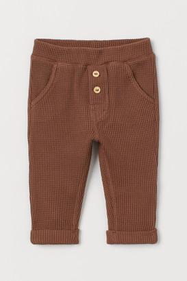 H&M Waffled Pants