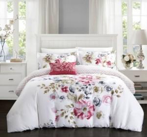 Chic Home Enchanted Garden 4 Pc Queen Duvet Cover Set Bedding