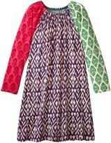 Pink Chicken Cami Dress (Toddler/Kid) - Mixed Block Prints - 3 Years