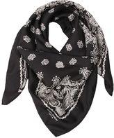 Saint Laurent Paisley Silk Scarf