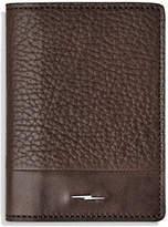 Shinola Bolt Fold Leather Card Case