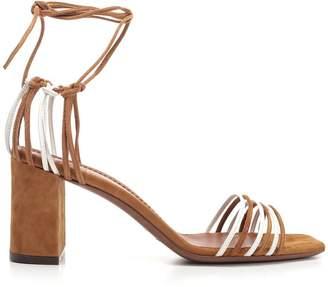 L'Autre Chose Suede Strap Sandals