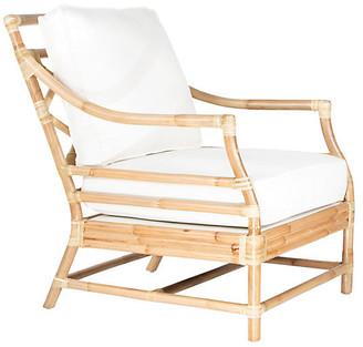 David Francis Furniture Savannah Accent Chair - Natural