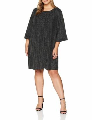 Yumi Women's Glitz Ruched Neck Tunic Dress