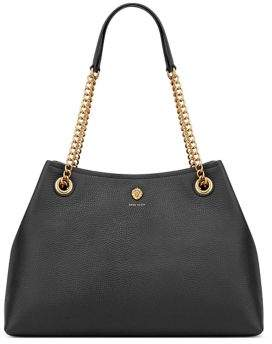Anne Klein Soft Leather Chain Tote