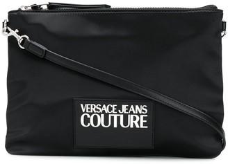 Versace Logo Patch Crossbody Bag