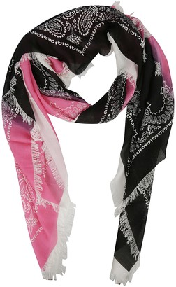 Destin Surl Patterned Scarf