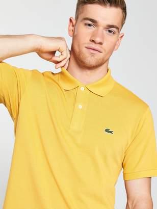 Lacoste Classic Polo Shirt - Mustard