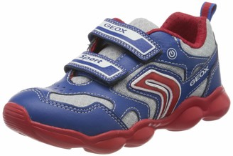 Geox Boy's J MUNFREY C Low-Top Sneakers