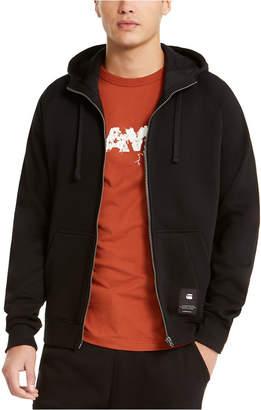 G Star Men Manes Raglan Hooded Zip Sweater