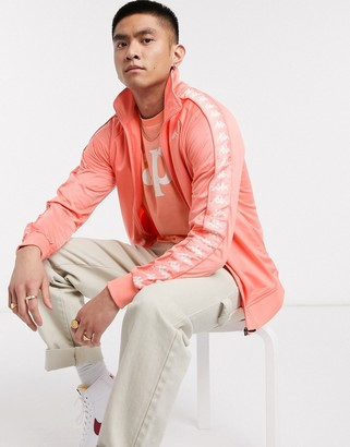 Kappa banda anniston tonal pink logo track jacket