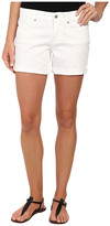 Lucky Brand Roll-Up Shorts in White Cap