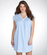 Karen Neuburger Spring Waltz Knit Night Shirt Plus Size