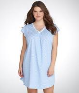 Karen Neuburger Spring Waltz Knit Night Shirt Plus Size