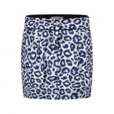 Little Marc Jacobs Little Marc JacobsGirls Navy Leopard Print Skirt