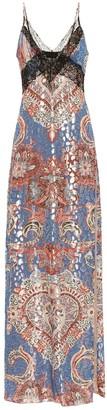 Dundas Fil coupe stretch-silk slip dress