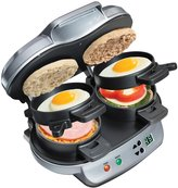 Hamilton Beach Dual Breakfast Sandwich Maker - Silver