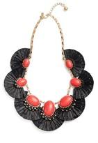 Kate Spade Women's Fiesta Fringe Statement Necklace