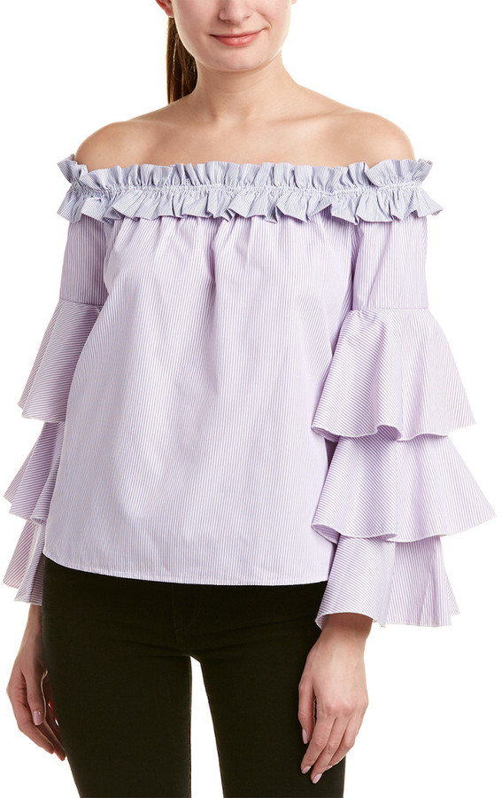 Thumbnail for your product : Romeo & Juliet Couture Off-The-Shoulder Top