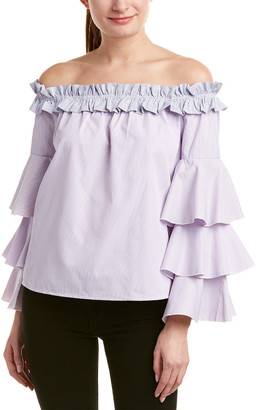 Romeo & Juliet Couture Off-The-Shoulder Top