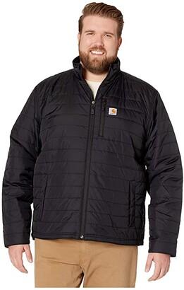 Carhartt Big Tall Gilliam Jacket (Black) Men's Coat