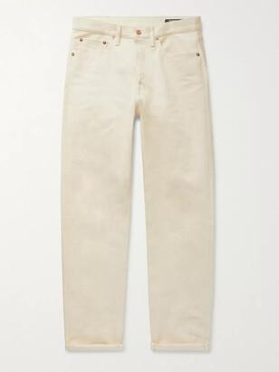 The Workers Club - Selvedge Denim Jeans - Men - Neutrals