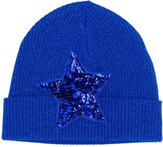 P.A.R.O.S.H. embellished star beanie hat