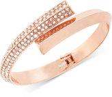 BCBGeneration Crystal Bypass Bracelet