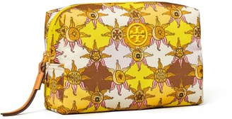 Tory Burch Piper Printed Small Cosmetic Case