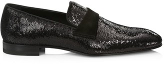 Paul Stuart Heron Sequin Formal Loafers